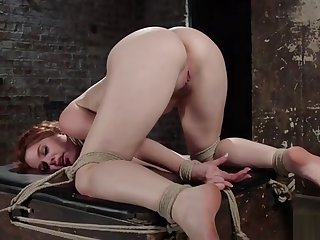 Spanish redhead gets hot blow up expand on with an increment of vibrator