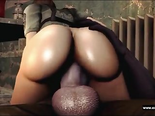 Booty and busty Zina fucked off out of one's mind a Zombie nigh a monster Hawkshaw and nigh a monster cumshot.