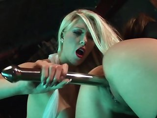 Brutal sex down at get under one's belt bar for two dolls