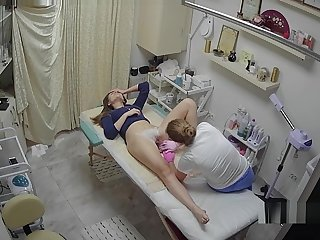Hidden Snoop Cam - Russian Beaty Salon - Pussy Depilation 03