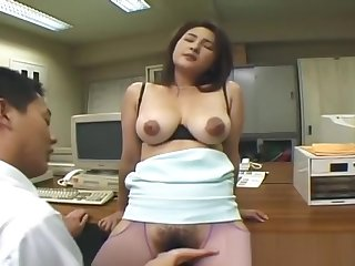 Busty japanese whore getting her pussy part5
