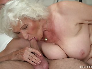 Mature big blonde whore Norma B deserves some eternal banging