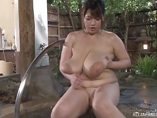 Busty Asian Yuuki likes to take effect all dirty sex games in someone's skin spa