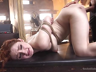 Tied and flexible Violet Monroe adores just about loathing punish by her friend