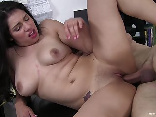 Vivid scenes of rough sex for a catch naked Latina