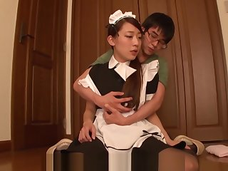 [English Subtitle] Jav Maid tie the knot Kashii Ria Good manners A Hentai Hento