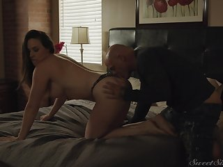Fat cock for attractive wife Chanel Preston for her birthday gift