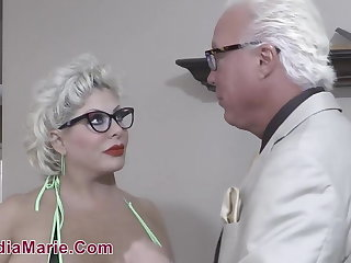 Renowned Knocker & Fat Bore Whore Claudia Marie Fucked Off out of one's mind Teen BBC