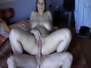 My wife's desire to get off is huge and she wants to ride my dick to exhaustion
