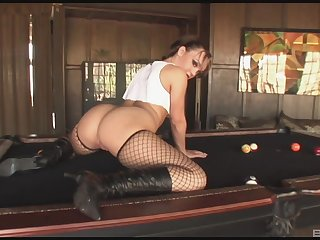 Interracial fucking chiefly the dazzle with a BBC and chubby ass Krystal Jordan