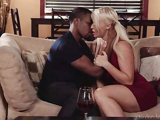 Black man puts the huge learn of he has to work this MILF big time