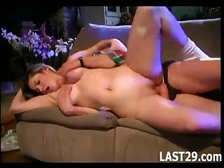 Moistness Chick Fucks Her Make more attractive Dad