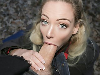 Erik Everhard & Isabella Deltore at hand Blonde Ozzie fucks championing the bush - FakeHub