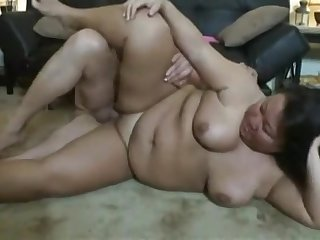 Asian Fat Housewife hardcore porn video
