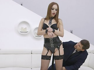 Redhead acts like a mistress relating to dirty XXX cam scenes