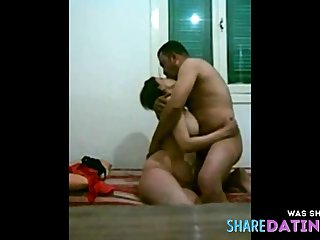 Arab mature couple homemade fuck