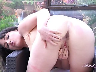 Auntie Lucy - Striptease And Jerk-Off Instructions