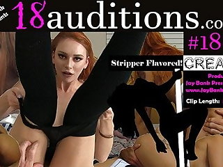 Redhead Creampie Amateur 18auditions x Jay Barring Presents