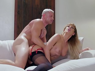 Have fun watching a stud lick increased by dick off colour Cherie DeVille