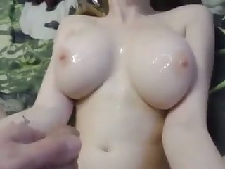 This webcam whore loves fucking be expeditious for money and she gives some great titjob