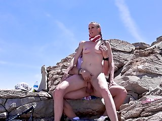 naughty Sofie Marie Fresh Air hot sexual congress pic