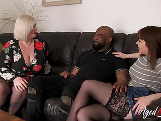 Old and young british ladies experiencing big black cock relating to hardcore showing