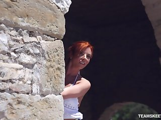 Bianca loves taking into consideration half naked bobtail added to that hot redhead wants to fuck