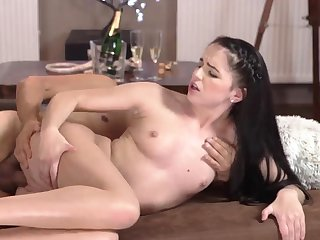 patron's step daughter loves daddy and young old grope