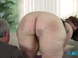 BBW Cherie pink wet pussy