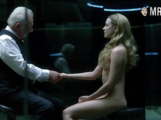 Awesome bootyful Evan Rachel Wood is hot and sexy painless she looks naked