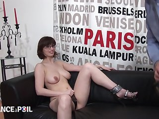 Big-Titted Clumsy Lovemaking Dark Hair Girl Librarian