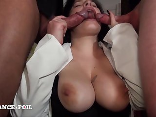 Curvy Major-domo With Milky Titties - Constant Sex