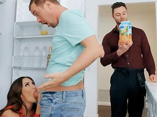 Wife's big interior seduced nanny with regard to fuck hardcore