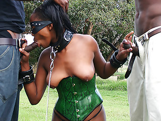 african talisman milf threesome banged