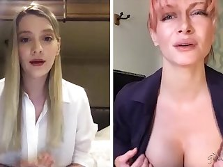 Two webcam models are jilling lacking beautiful pussies