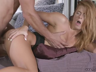 A real pleasure to strive this amateur redhead riding your dick