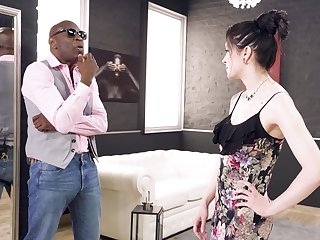 Impenetrable depths anal with a black leading lady older than her