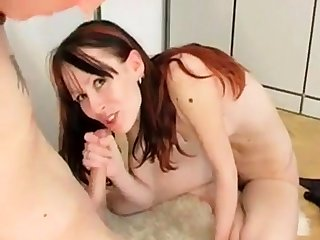 Skinny hairy woman gets fucked