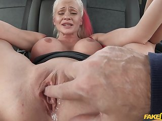 Fake Taxi-cub - Cindy Sun Gets Covered In Cum 2 - Cindy Sun
