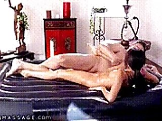 Masseuse Hime Marie Shows Colleague What Nuru Is