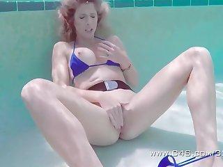 American, Big tits, Blonde, Lesbian, Outdoor, Tits,
