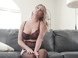 Compilation, Cute, Lingerie, Model, Natural, Pornstar, Solo, Tits, Backstage, Behind the scenes, Long hair,